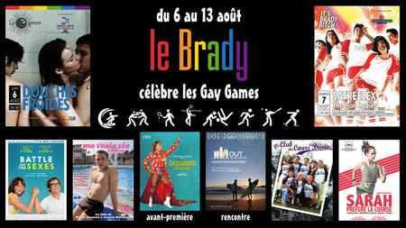 LE BRADY CÉLÈBRE LES GAY GAMES
