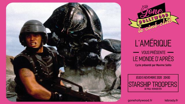 """Ciné-club Gone Hollywood : """"l'Amérique du monde d'après"""" • Starship Troopers"""